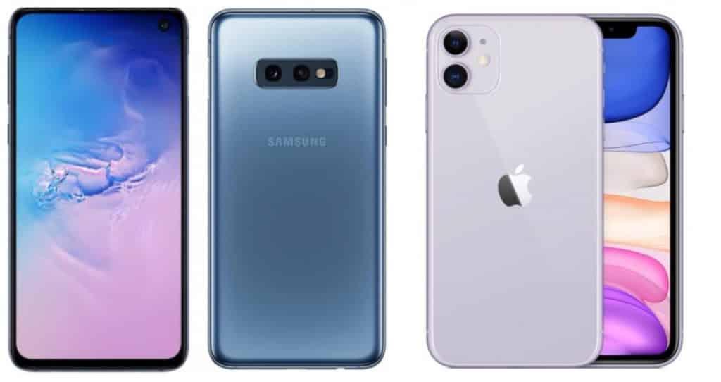 Samsung-Galaxy S10e VS iPhone 11